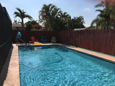Photo for SUMMER RESORT,1 MILE TO HOLLYWOOD BEACH, SING FAM HOME, PRIVATE POOL, QUIET AREA