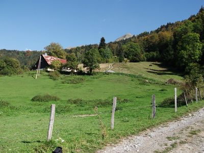 Photo for Renovated farmhouse with panoramic views