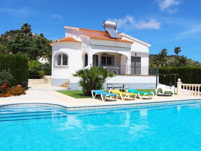 Photo for Villa with large private swimming pool and sea view
