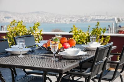 Stunning Sea Views from the PRIVATE TERRACE