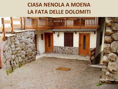 Photo for Ciasa Nenola in Moena the Fairy of the Dolomites