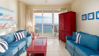 Photo for Step Out Onto The Sand! Relax in this Gulf Front Condo that Sleeps 7!