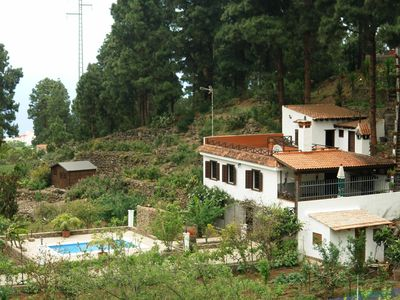 Photo for House With private pool in el Bosque, Tenerife North, ideal for families