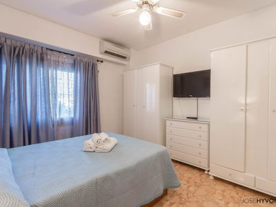 Photo for Frontline Beach Apartment near Puerto Marina