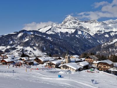 Photo for Crest-Voland, 300 m from the runs, shops in a residence of standing with a pool