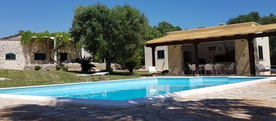 Photo for 4 Br Luxury Villa, Pool, Outside Kitchen, Privacy, Garden, Olive Grounds