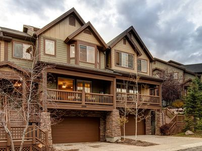 Photo for NEW LISTING! Centrally located, family-friendly townhome with private hot tub!