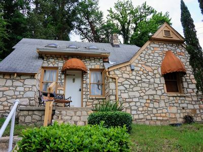 Photo for Charming Uptown Stone Chalet ~ 2 Minutes to Bathhouse Row