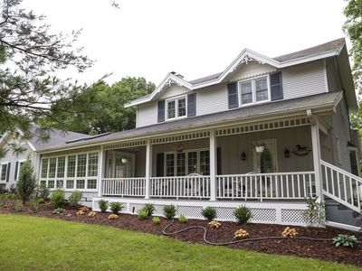 Photo for Spacious, comfortable home just steps from downtown Saugatuck