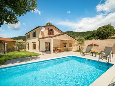 Photo for This 2-bedroom villa for up to 6 guests is located in Lupoglav and has a private swimming pool, air-