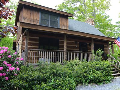 Photo for Altitude Adjustment - Seven Devils cabin with Hot Tub, Pet Friendly, Fireplace
