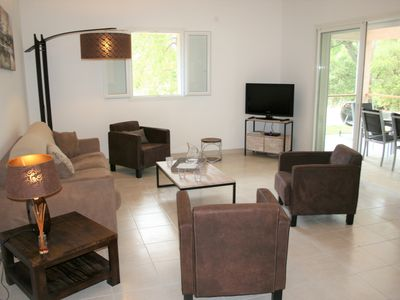 Photo for Charming air-conditioned villa at 5 min from the beach of ST Cyprien
