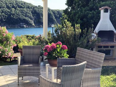 Photo for Villa Cacciò on the sea with private garden