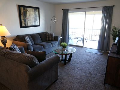 Photo for Cape Palms 209  2bd 1bath Condominium with Community Pool in SE Cape Coral on Gulf Access Canal