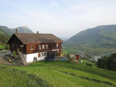 Photo for Holiday apartment Lauerz for 4 - 5 persons with 2 bedrooms - Holiday apartment in a farmhouse