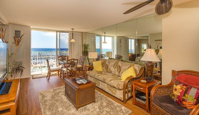 Photo for Aloha Condos, Ilikai Marina, Condo 1182, Oceanfront, AC