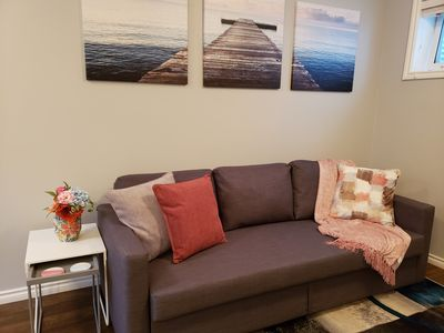 Photo for Modern Suite near West Edm Mall with garage, Pets allowed