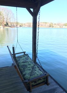 Photo for Relaxing Lake Retreat With Canoe, Kayaks, Paddle Board And Sailboat
