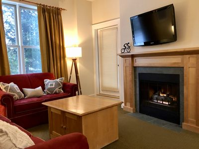 Stratton 1 Bedroom Long Trail Condo, Walk to Village and Lifts