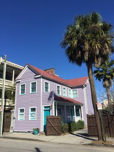 Photo for 1850 Charleston Single - Historic District: Walk to Everything