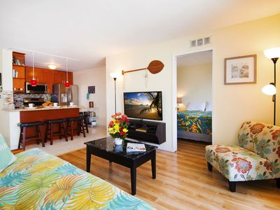 Photo for 2 BR Condo in Waikiki | Close to Beach | Free Parking