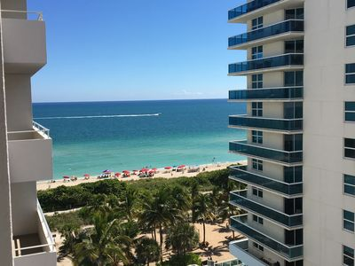 Photo for Four Winds Condo on beach @ Surfside/ Miami Beach, FL