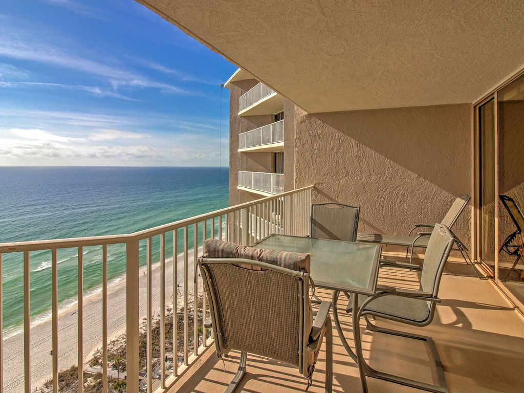 New 2br Panama City Beach Condo W Gulf Views Panama City Beach Florida Panhandle Florida