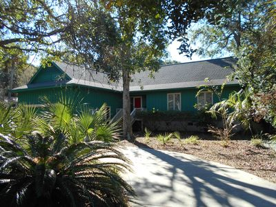 Photo for PRIVATE POOL! VERY NICE HOME W/4 BEDROOMS, 2 Shad Row. EASY 3 MINUTES TO BEACH
