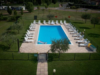 Photo for TWO-ROOM APARTMENT 4PX - SIRMIONE - FRONTE TERME VIRGILIO