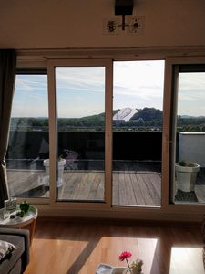 Photo for Penthouse with fantastic views of the Landgraaf / Aachen Li ski slope