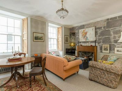Photo for Heart of Rose Street Quirky Antique Apartment