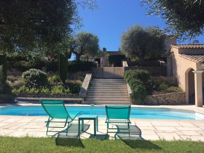 Photo for VILLA SWIMMING POOL CALM AND VIEW 20 mn CANNES