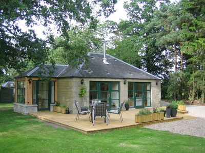 Photo for The Doocot is a luxury rural retreat for couples.