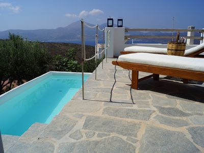 Photo for Villa in Village with Stunning Sea Views From Large Sun Terraces.