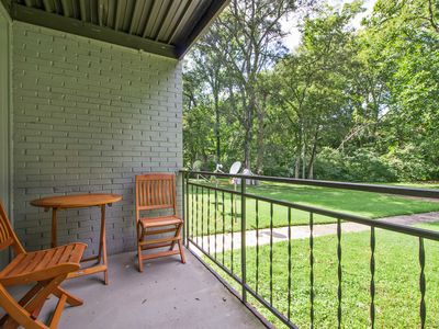 Photo for Updated 2BR w/ Balcony & Wooded Views, 10 Minutes from Nashville & Airport