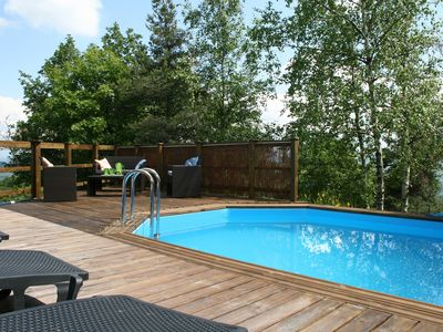 Photo for Hilltop Holiday Home - Private Pool and Garden.