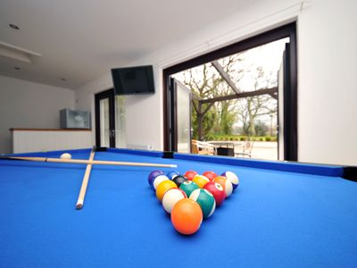Photo for Pool table, Games Room, Dog friendly, Luxury Home for larger groups