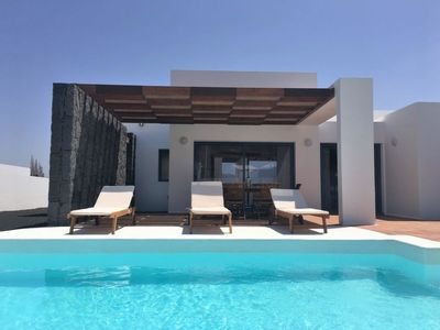 Photo for Playa Blanca Holiday Home, Sleeps 4 with Pool, Air Con and Free WiFi