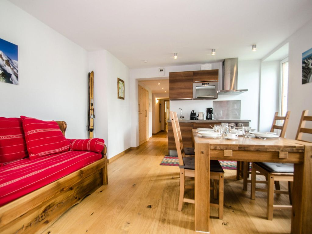 3 Room Flat residence roches blanches - 3 room flat for 4 people - chamonix city centre