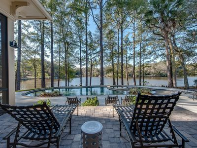 Photo for 85 Mooring Buoy | NEWLY CONSTRUCTED | Gourmet Kitchen | Large Screened Porch w/ TV | Private Pool
