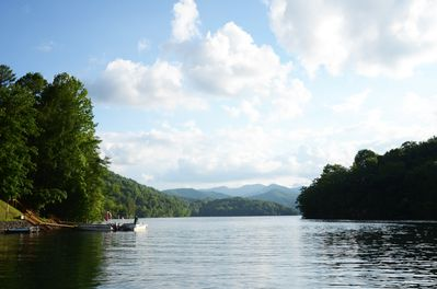 View of Lake Nantahala