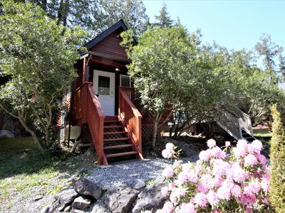 Photo for Cozy Cabin centrally located - Love Shanty