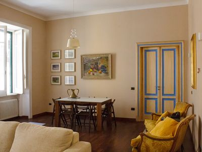 Photo for Beautiful apartment in a quiet area but very close to the Center