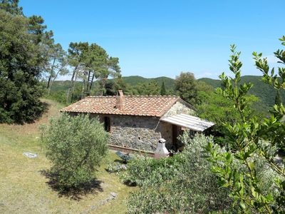 Photo for 2 bedroom Villa, sleeps 5 in Podere Dottrina with Air Con and WiFi