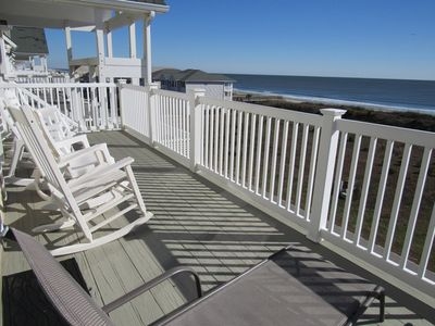 "Photo for NEW LISTING! ""Lighthouse"" Fantastic views-top floor-elevator-pool club"