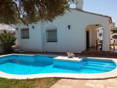 Photo for Ref. 1160 Detached 2 bedroom villa with private pool, A / C, wifi