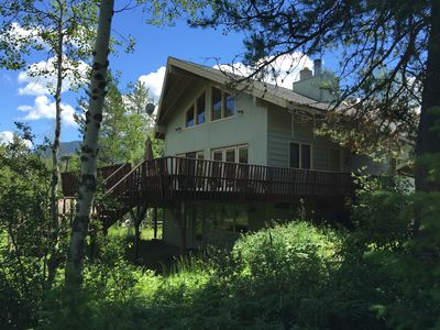 Photo for Glacier National Park Entrance one mile - Like New Home w/AC