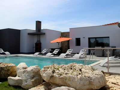 Photo for Spacious and comfortable villa with pool, cozy terrace and beautiful views