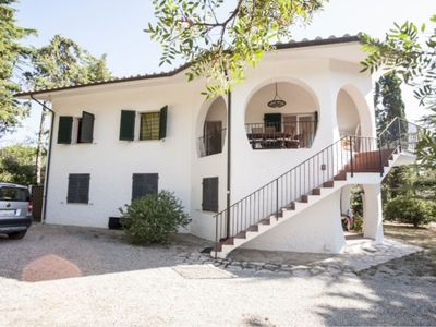 Photo for Small villa with terrace close to the beach of Procchio