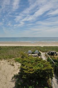 Photo for Oceanfront, 2 Bedroom Condo, 1 Mile From The Pier